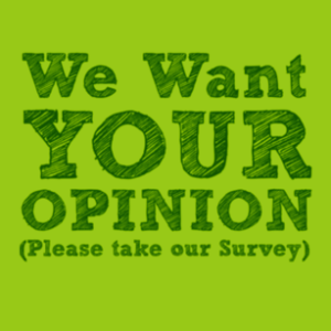 Please take our survey (click here)