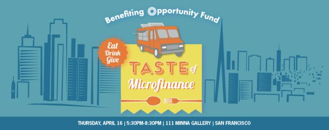 taste of microfinance